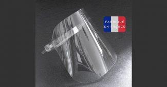 Visière de protection fabriquée en France